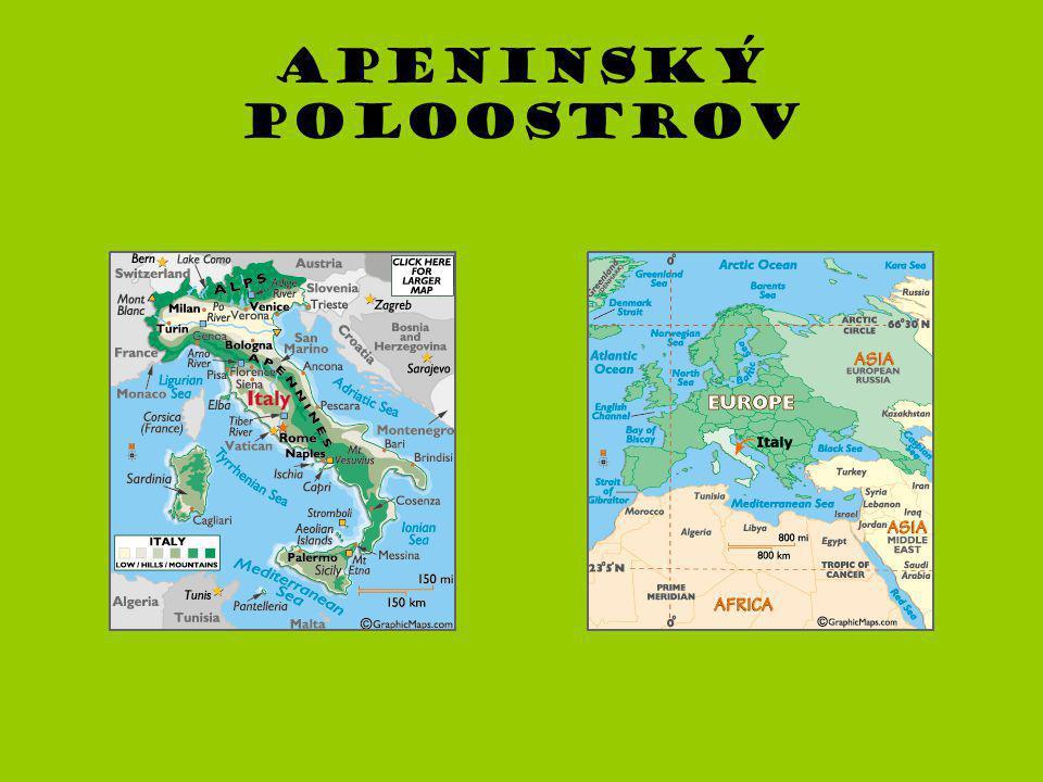 Apeninský poloostrov