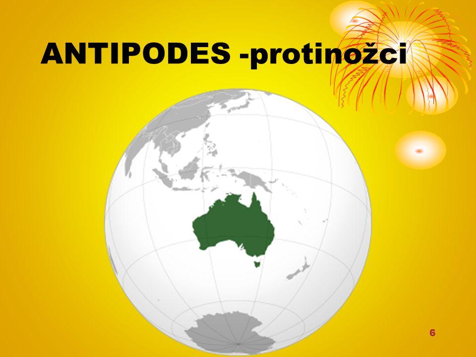 6 ANTIPODES -protinožci