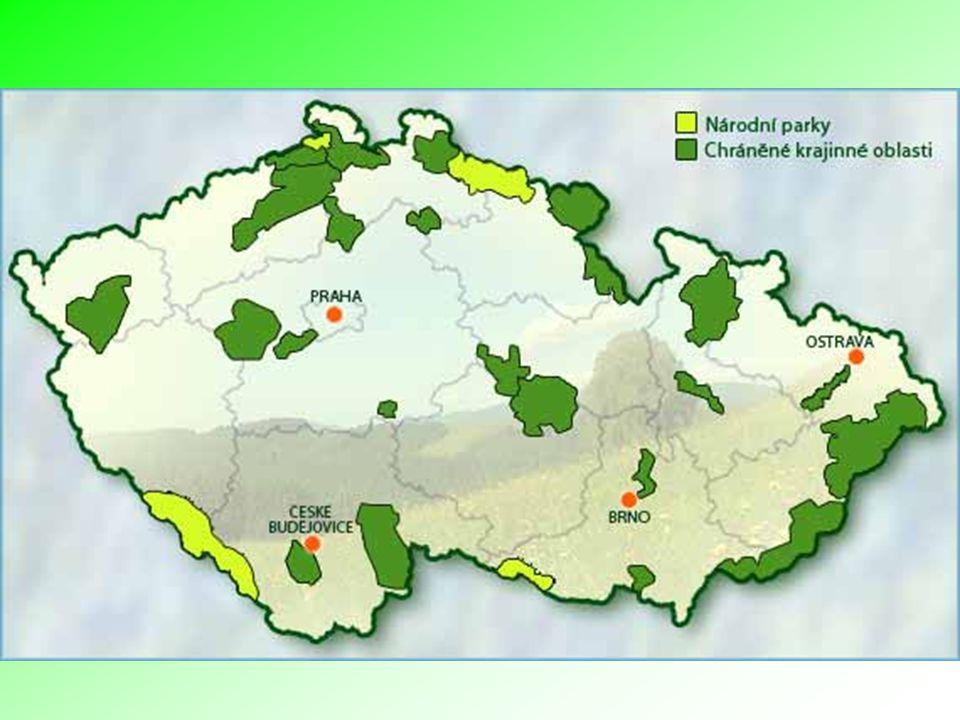 Informace a rady pro návštěvníky CHKO, národních parků a přírodních rezervací..