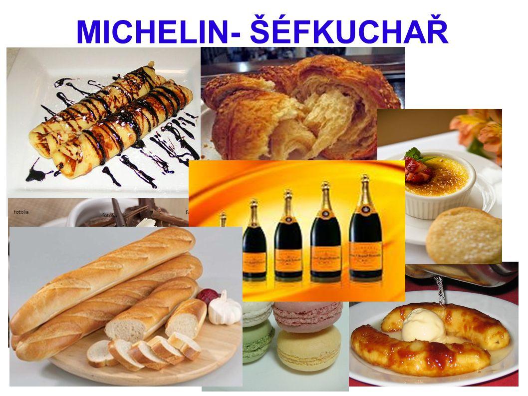 MICHELIN- ŠÉFKUCHAŘ