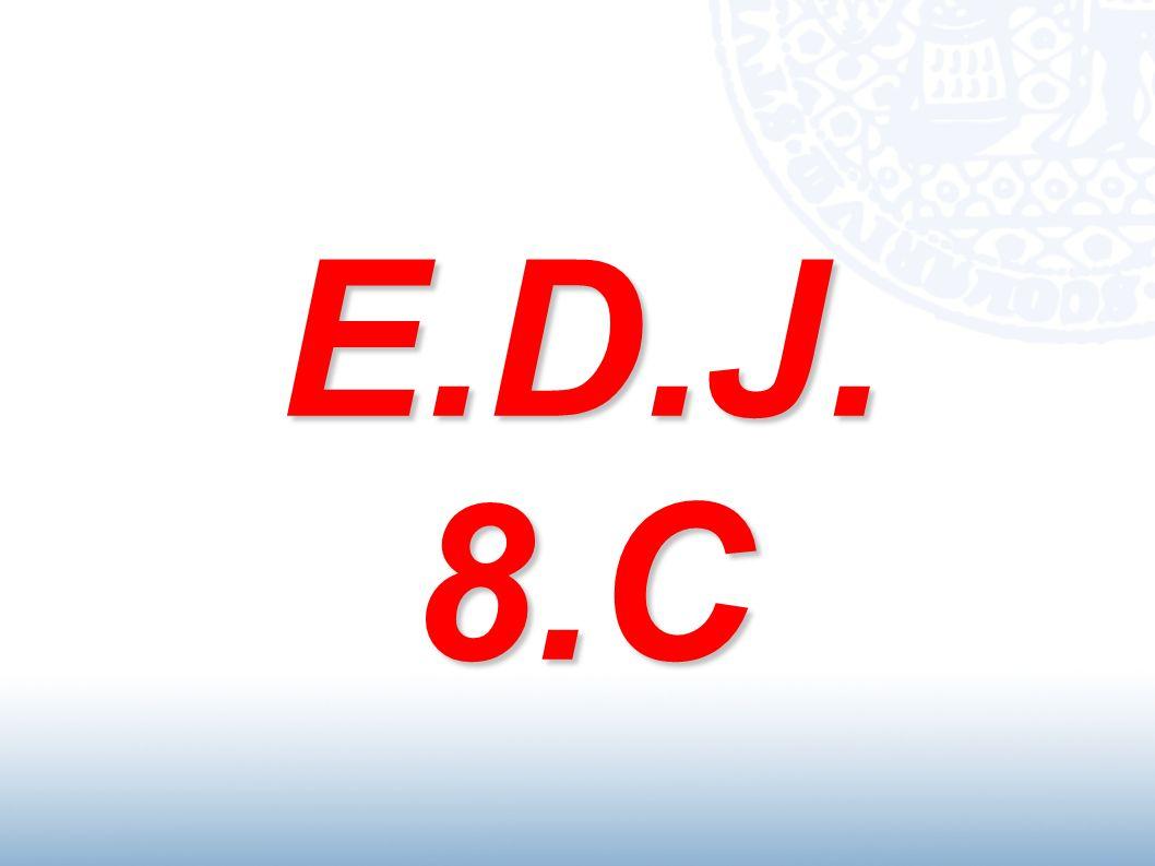 E.D.J. 8.C