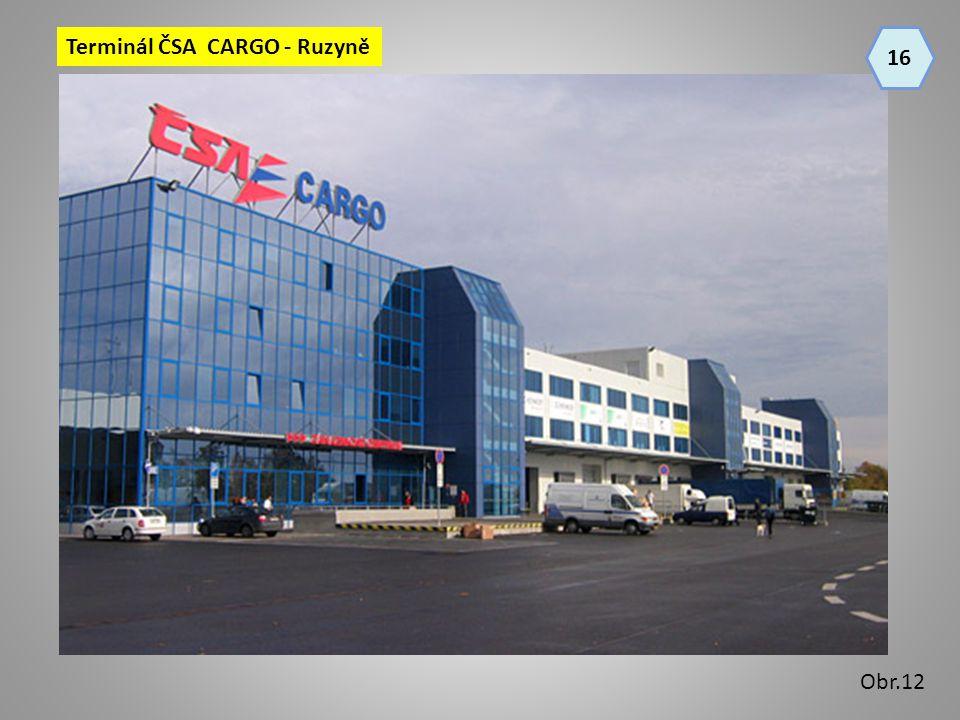 16 Terminál ČSA CARGO - Ruzyně Obr.12