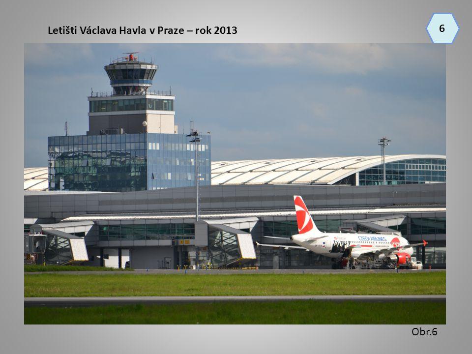 Letišti Václava Havla v Praze – rok 2013 6 Obr.6