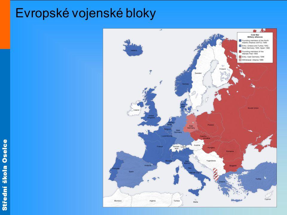 Střední škola Oselce Evropské vojenské bloky