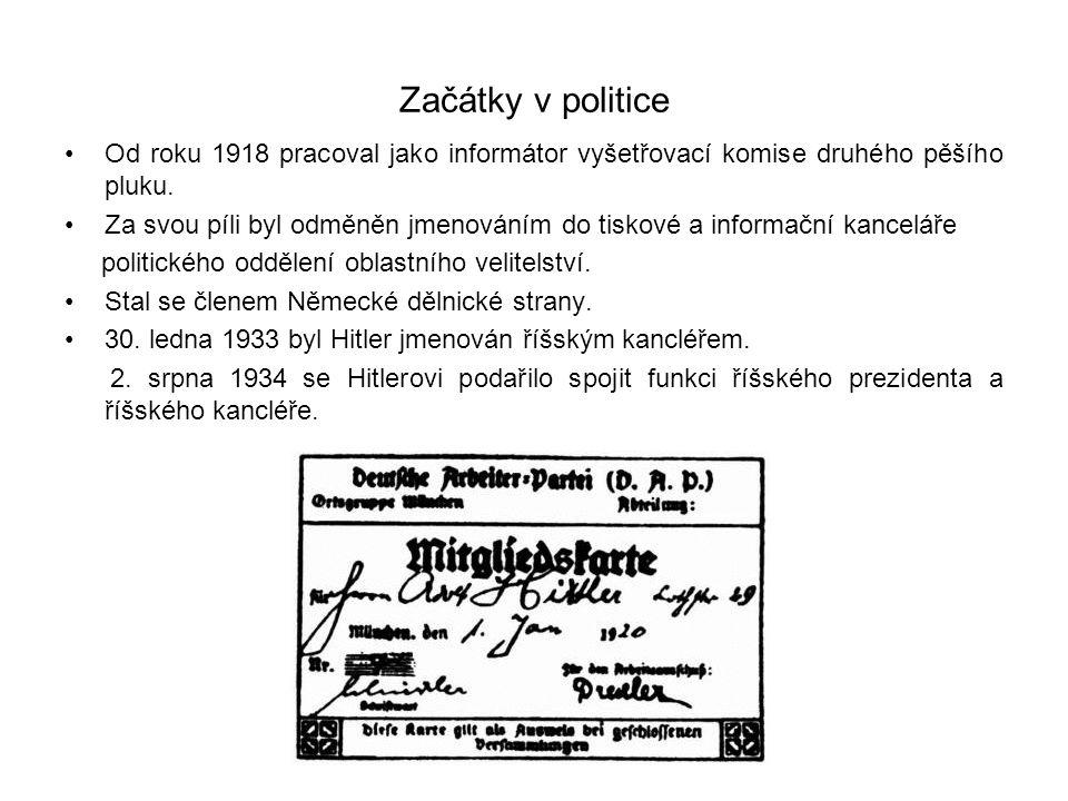 Začátky v politice Od roku 1918 pracoval jako informátor vyšetřovací komise druhého pěšího pluku.