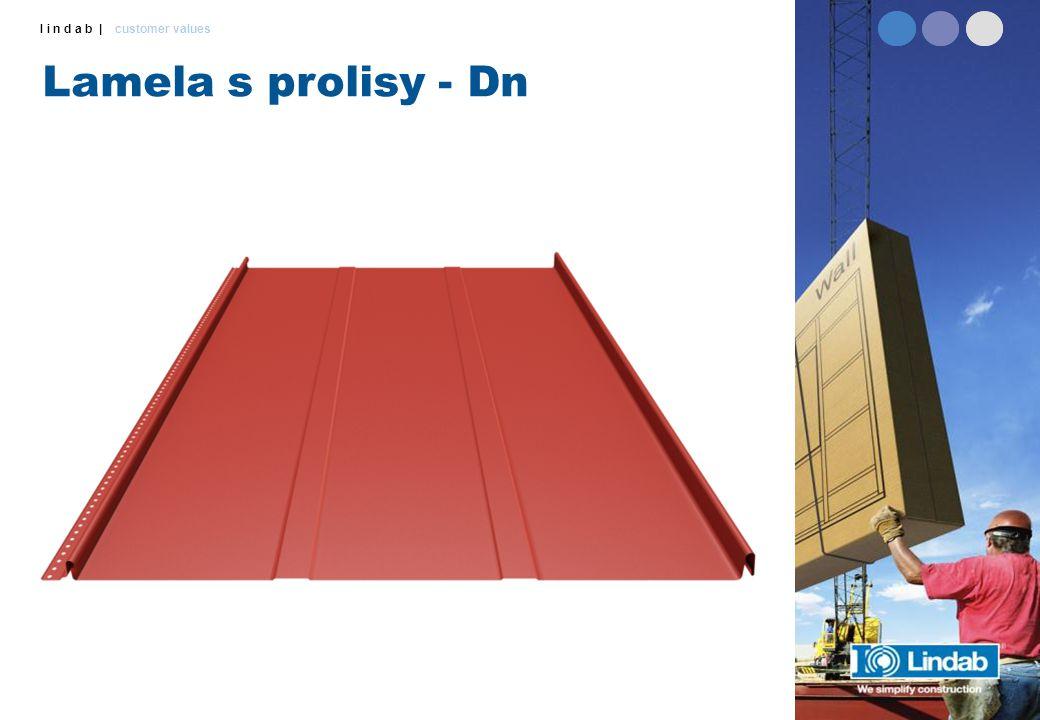 l i n d a b | customer values Lamela s prolisy - Dn