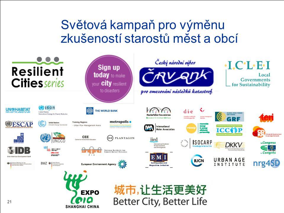 Světová kampaň pro výměnu zkušeností starostů měst a obcí 21