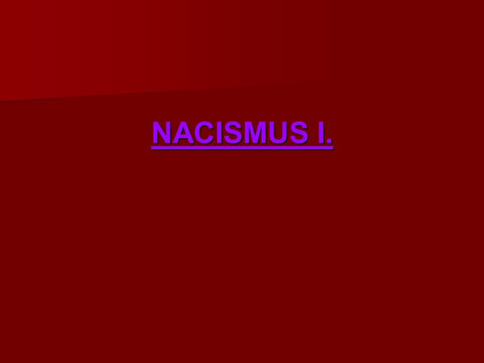 NACISMUS I.