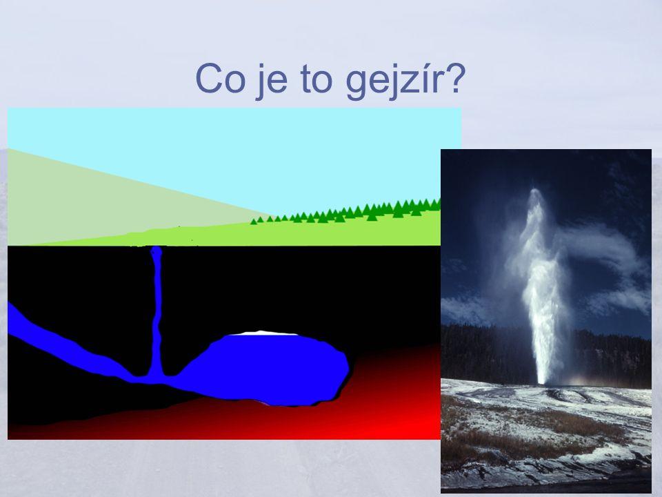 Co je to gejzír?