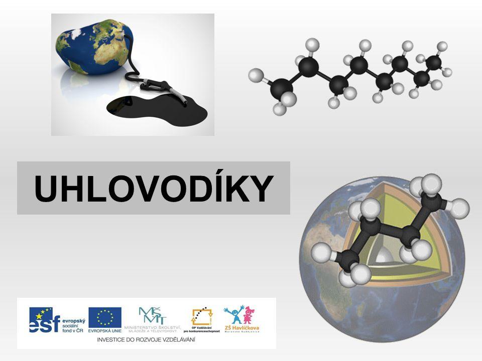 ALKYNY - obsahují mezi atomy uhlíku jednu trojnou vazbu - názvy mají koncovku - yn ethyn – acetylen propyn