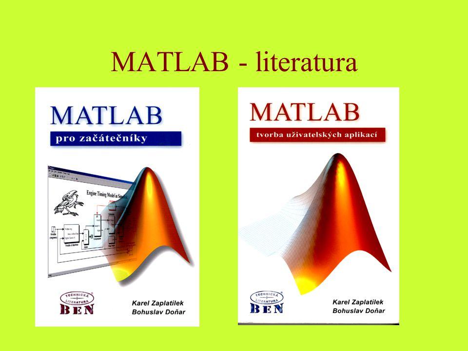 MATLAB - literatura