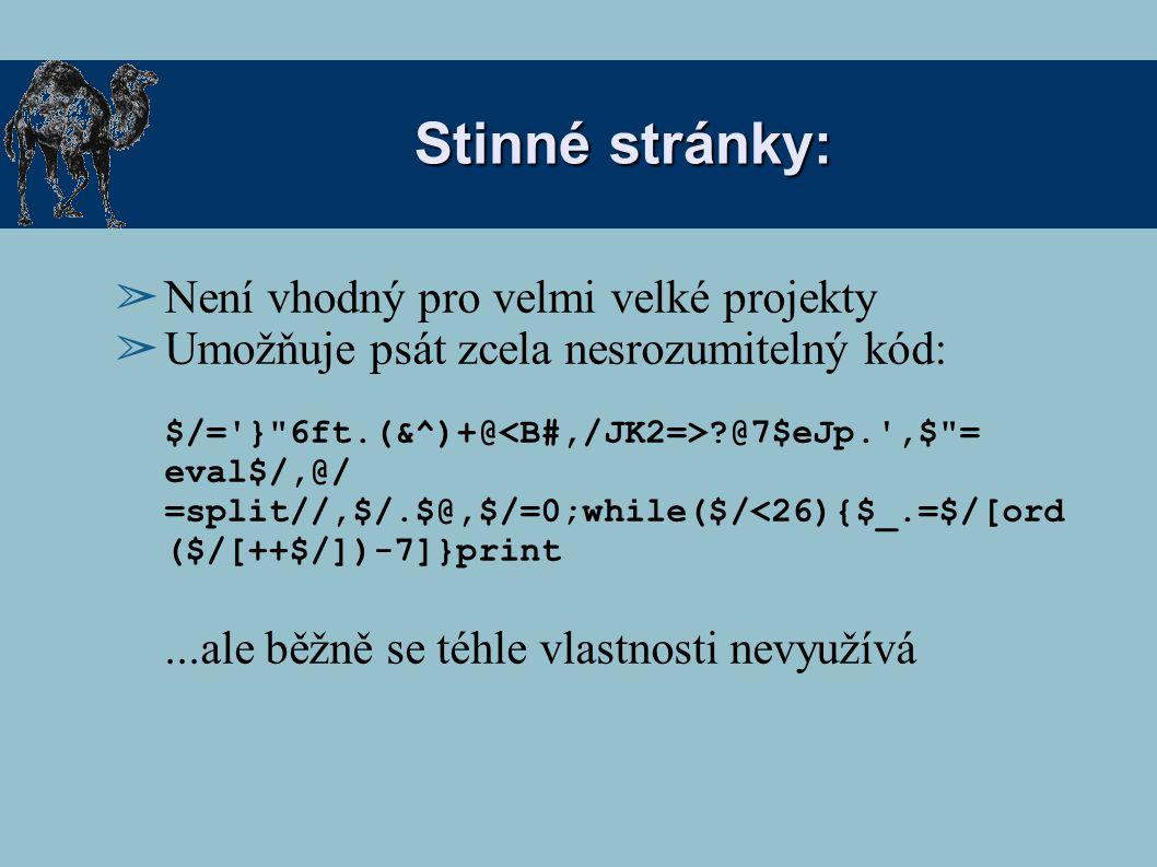"""""""Hello world! ➢ Nejjednodušší program: print Hello world! ; Příkaz – parametry nejsou nutně v závorce."""