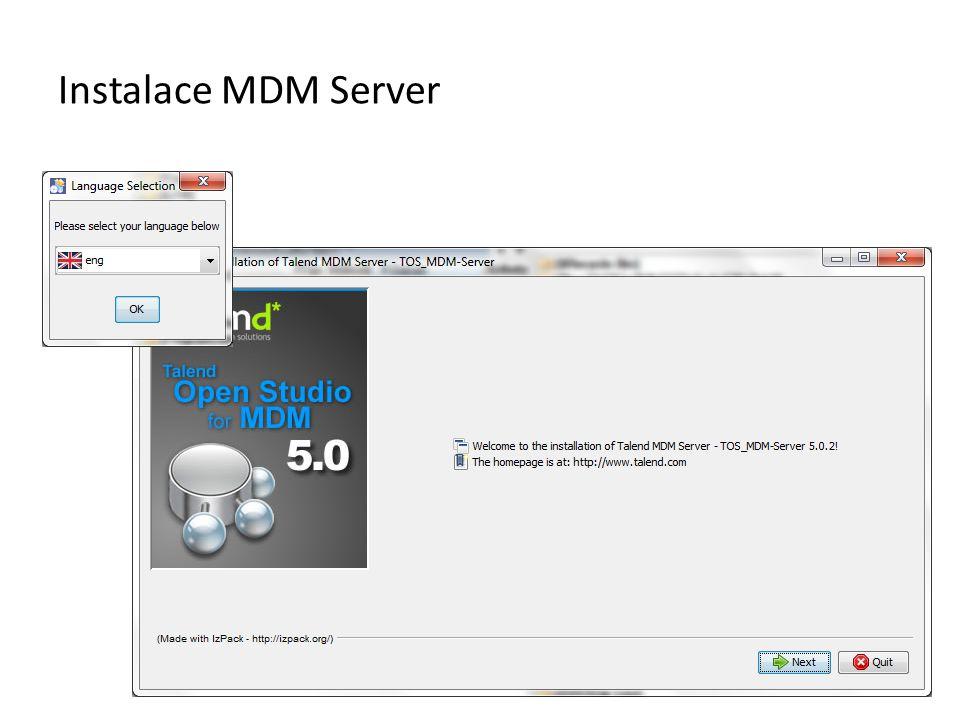 Instalace MDM Server