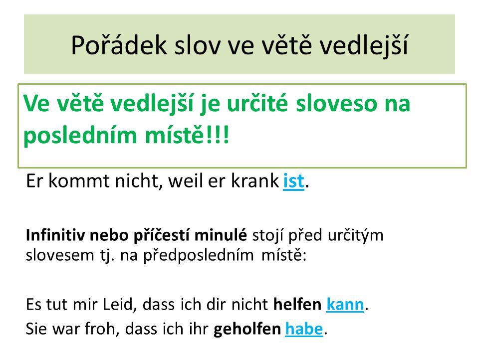 Přímá otázka Jedná se o větu jednoduchou.Was möchtest du nach dem Abitur machen.
