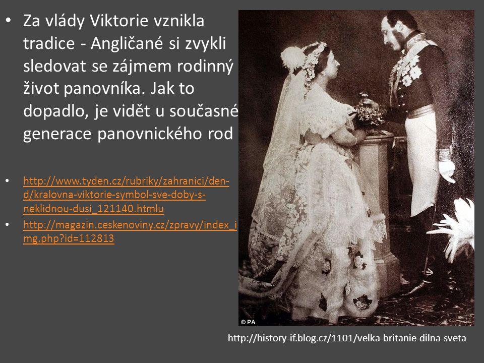 Za vlády Viktorie vznikla tradice - Angličané si zvykli sledovat se zájmem rodinný život panovníka.