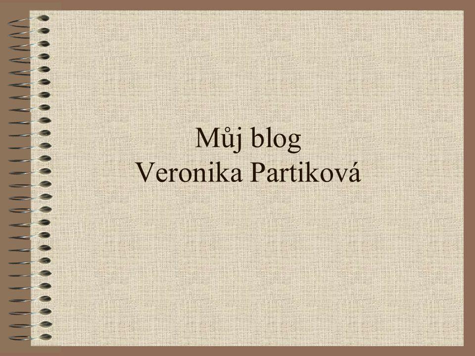 Můj blog Veronika Partiková