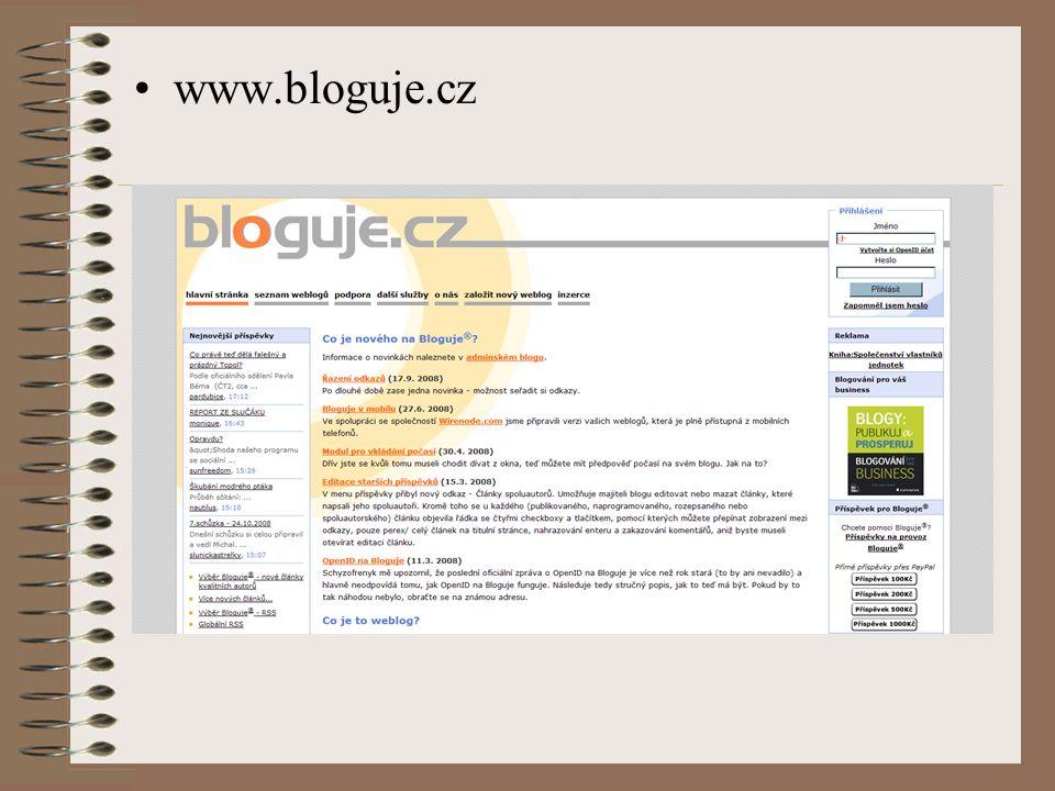 www.bloguje.cz