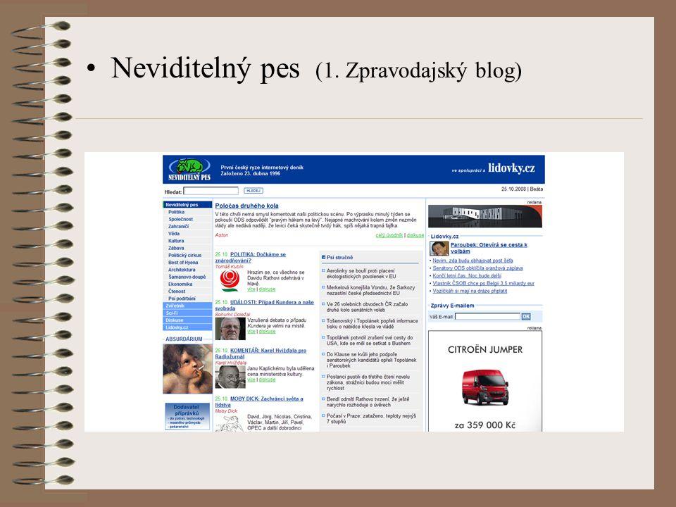 Nejznámější blogy