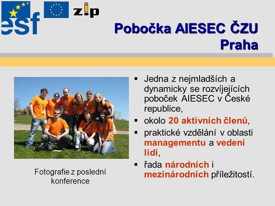 """Komunikace v AIESEC ČZU Praha Komunikace je: """"Prostředek, s jehož pomocí lze dosáhnout změn zabezpečujících blaho organizace. Při změně v komunikaci je u nás důraz kladen na:  pohodlí uživatelů,  finanční stránku,  rychlost a jednoduchost realizace."""