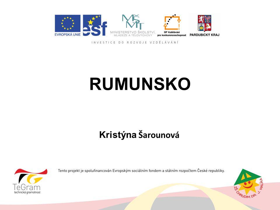 Rumunsko Kristýna Šarounová