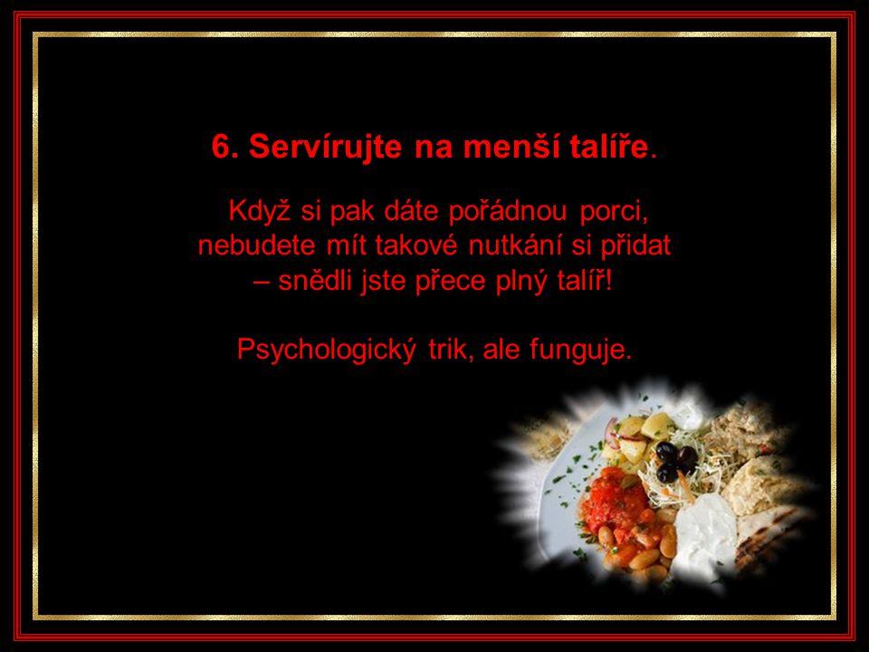 5. Jezte pomalu.