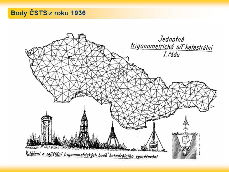 Body ČSTS z roku 1936