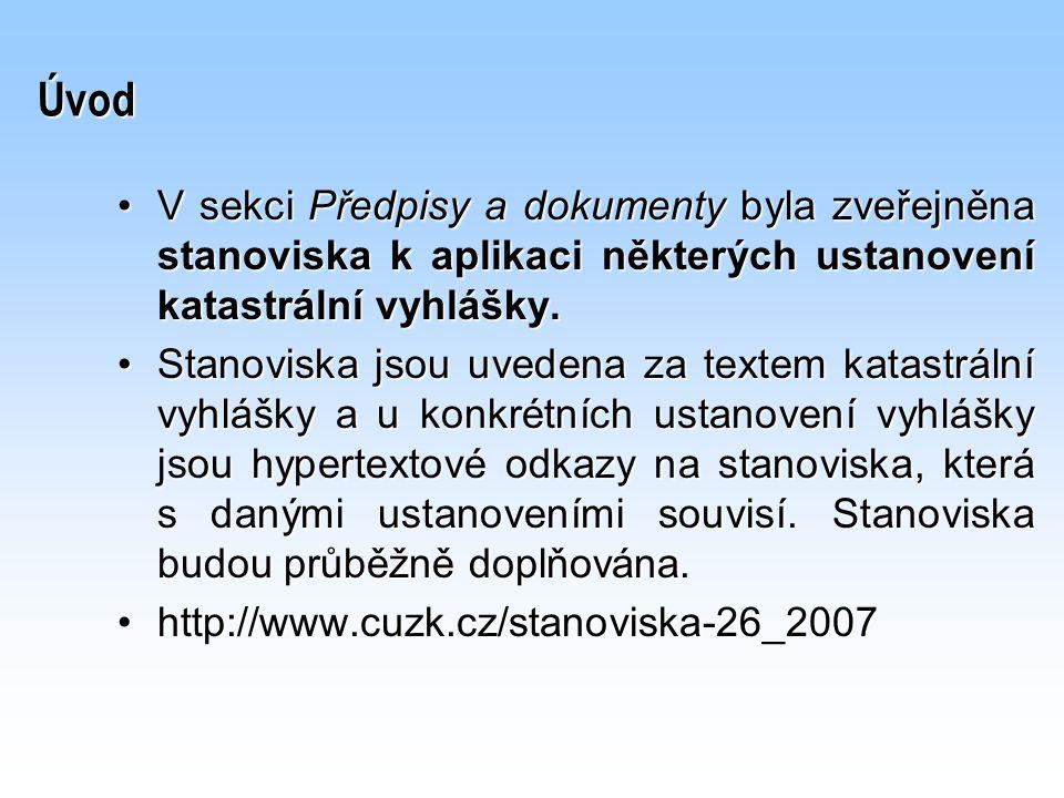 Vyhotovení a vedení KMD v S-JTSK Ing. Štencel – 29. ledna 2008 – Č. Budějovice