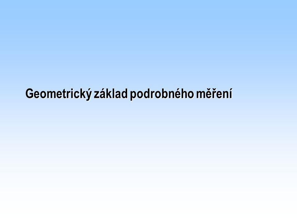 Vyhotovení a vedení KMD v S-JTSK Přehled identických bodů
