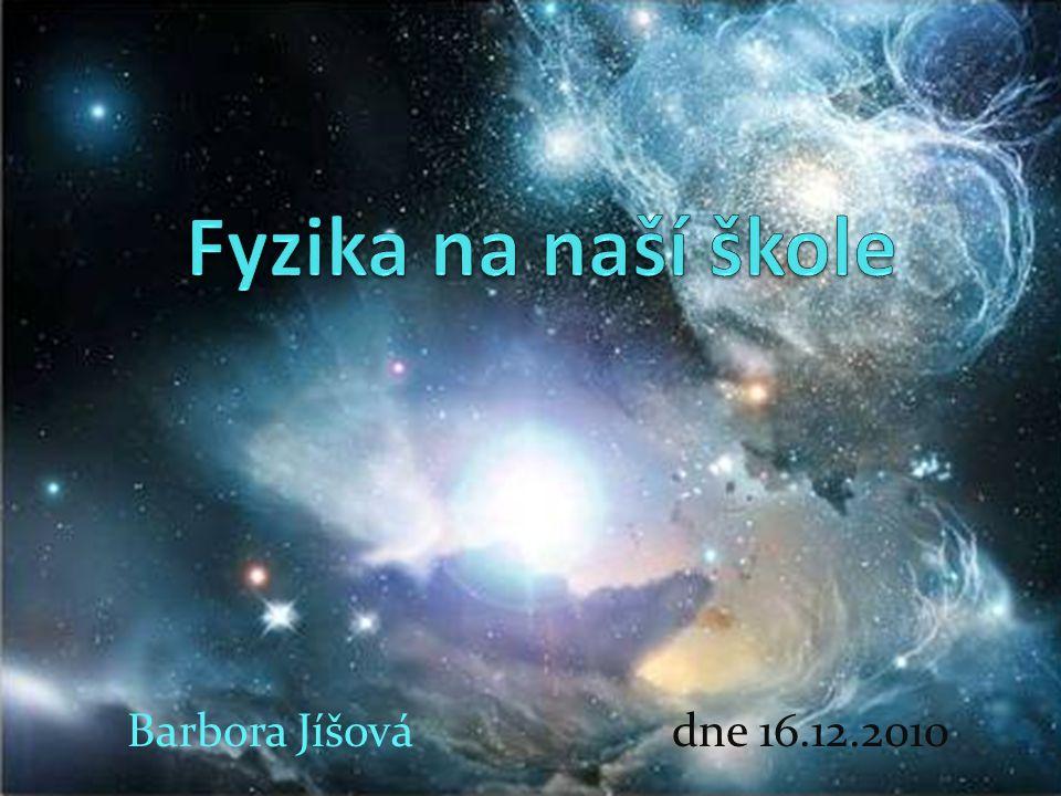 Barbora Jíšová dne 16.12.2010