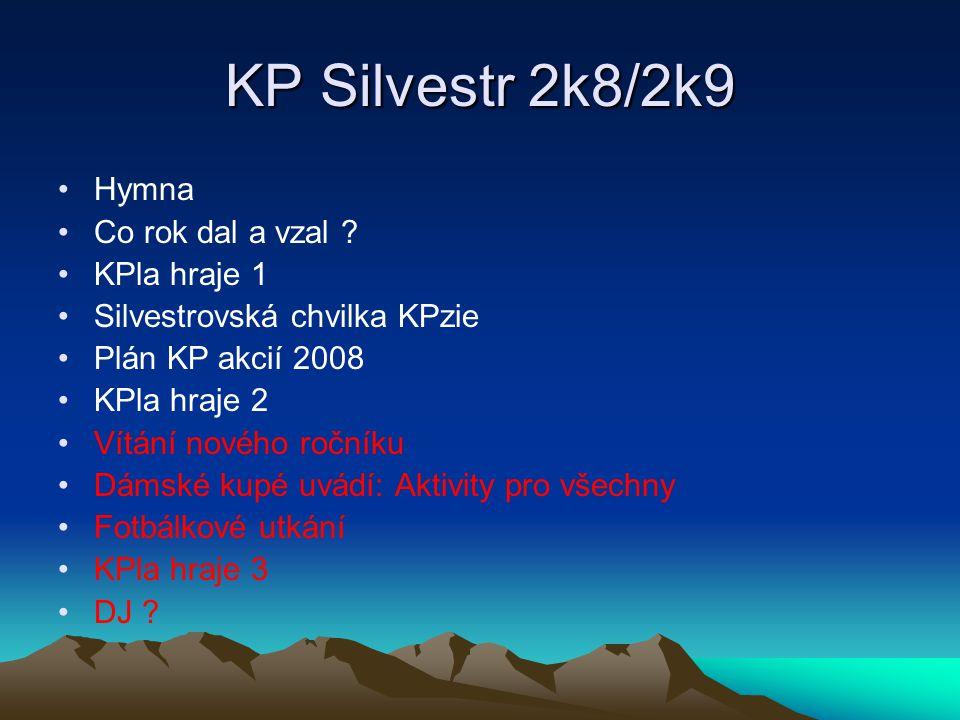 KP Silvestr 2k8/2k9 Hymna Co rok dal a vzal .