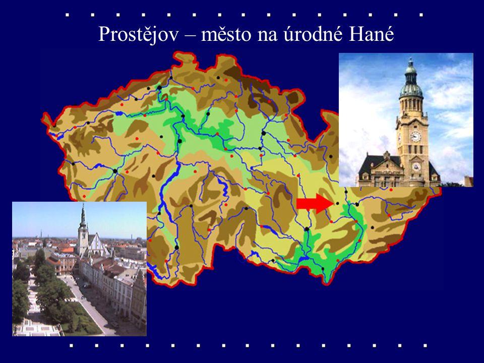 Přerov – město při řece Bečvě