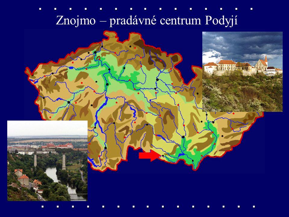 Břeclav – dopravní křižovatka na Dyji