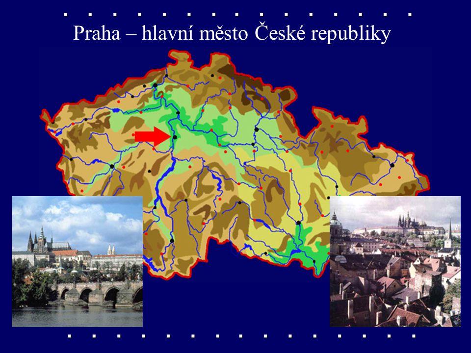 Výběr třiceti měst Města České republiky Vyhledávejte ve své příruční mapě.