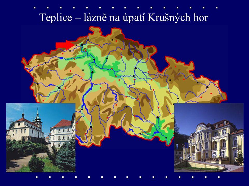 Most – město pod Krušnými horami