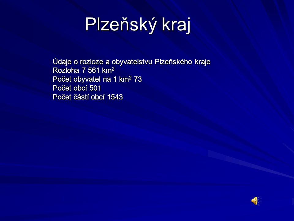 Plzeňský kraj vznikl podle zákona o vyšších územně správních celcích na území 7 okresů (bývalého Západočeského kraje): Domažlice, Klatovy, Plzeň-jih, Plzeň-město, Plzeň-sever, Rokycany a Tachov.