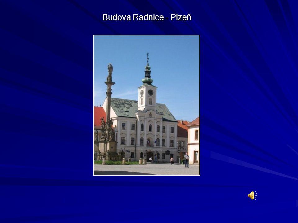 Budova Radnice - Plzeň