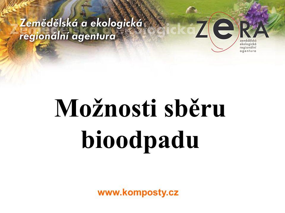www.komposty.cz Možnosti sběru bioodpadu