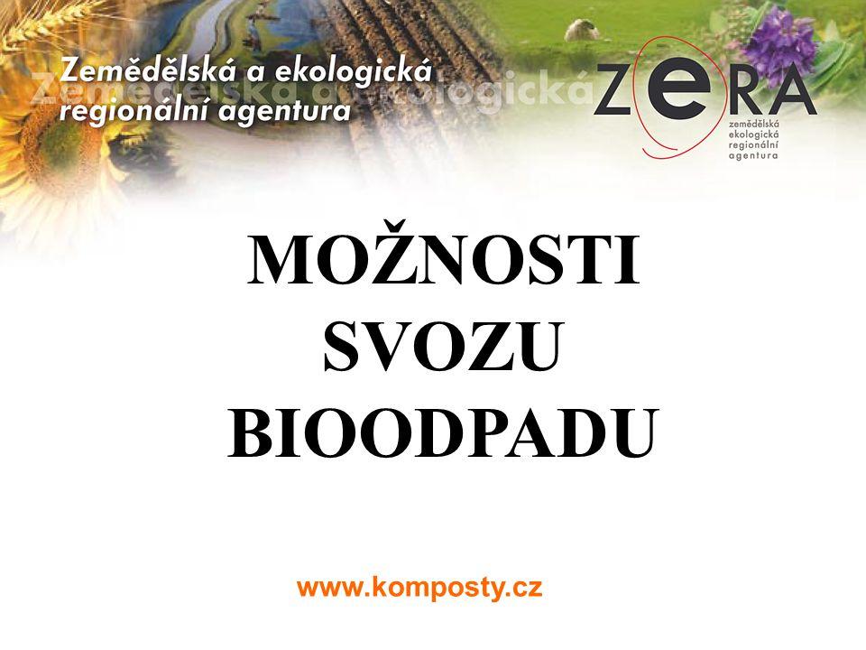 www.komposty.cz MOŽNOSTI SVOZU BIOODPADU