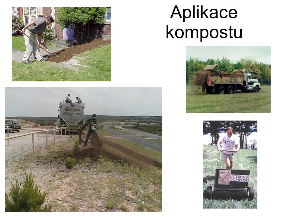 Aplikace kompostu