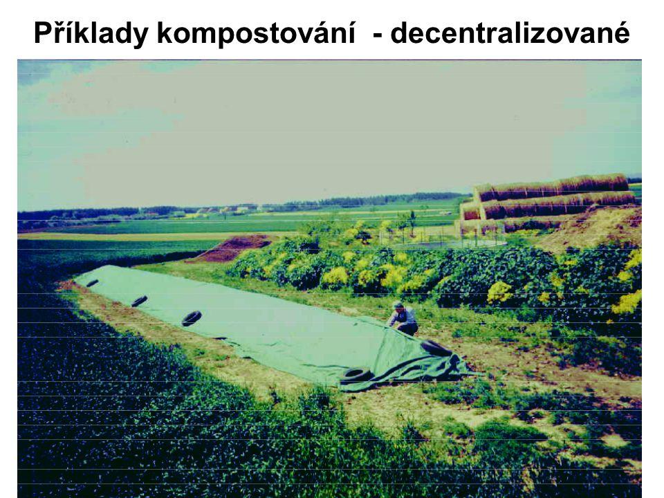 Příklady kompostování - decentralizované