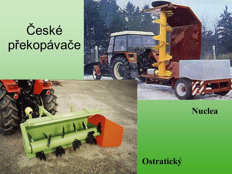 České překopávače Ostratický Nuclea