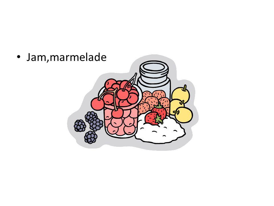 Jam,marmelade