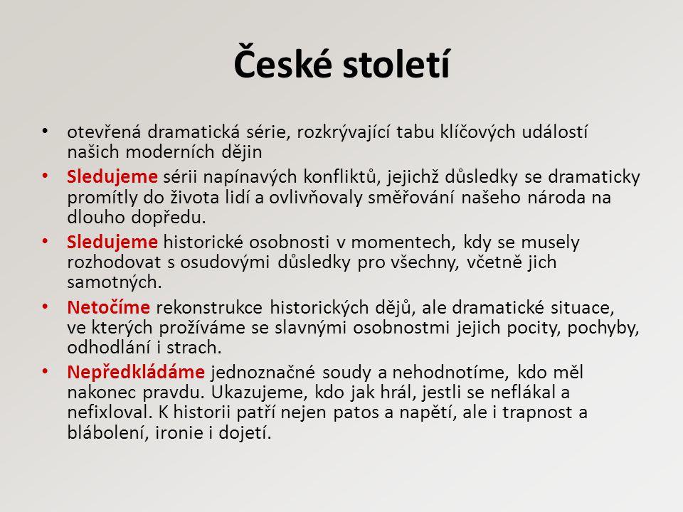 České století 1938 - Den po Mnichovu Beneš a Moravec.
