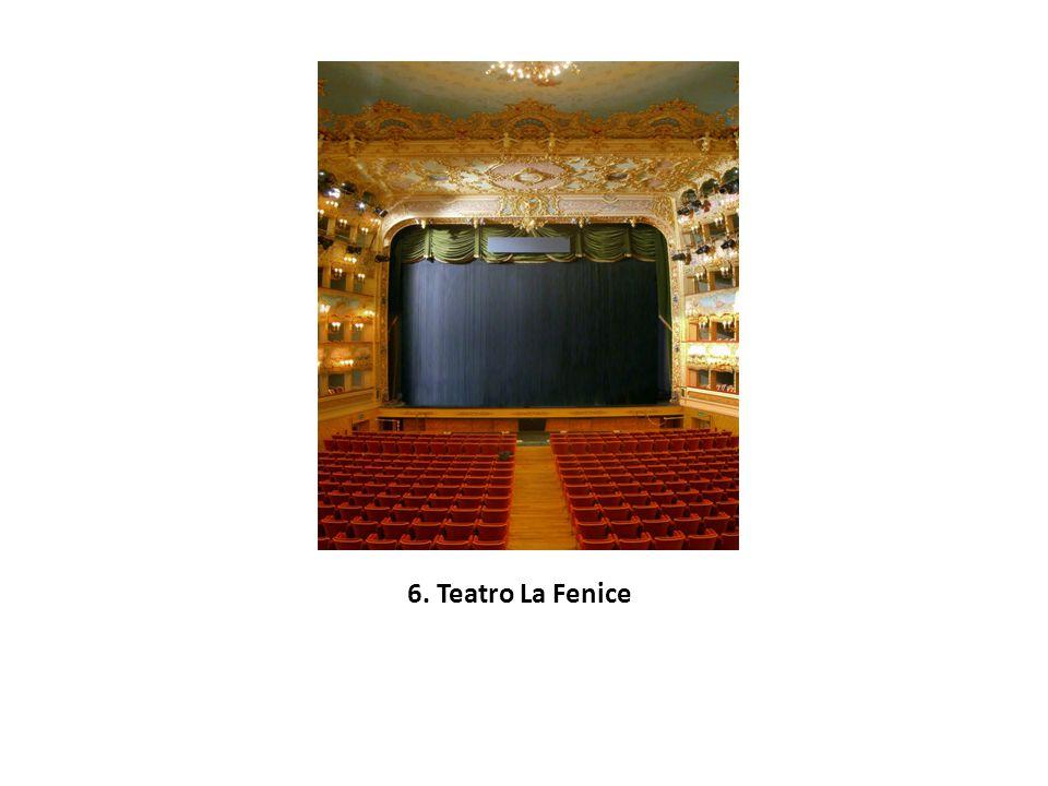 6. Teatro La Fenice
