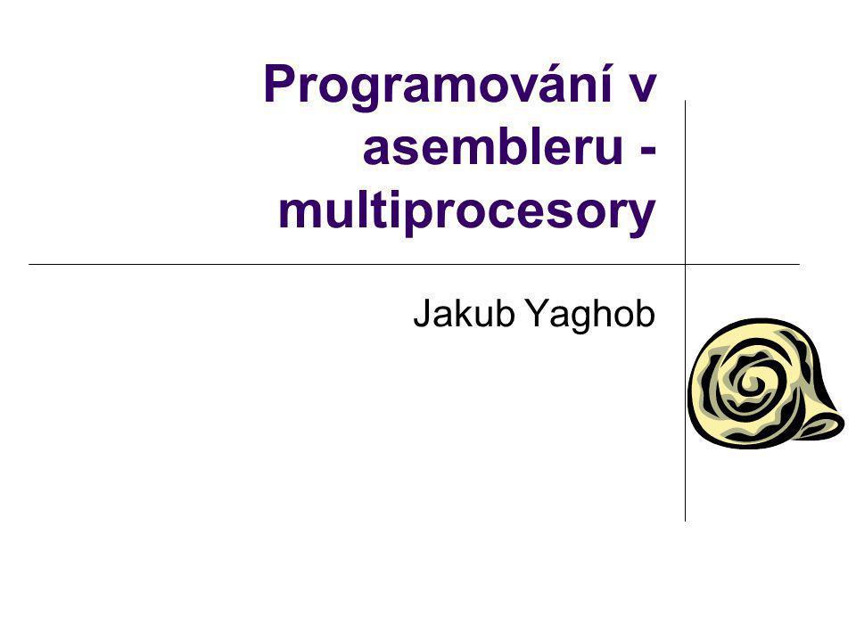 Programování na MP Problémy Atomické operace Zaručené atomické operace Zamykání sběrnice Cache Pořadí paměťových operací Serializující instrukce Samomodifikující se kód Spin-locky