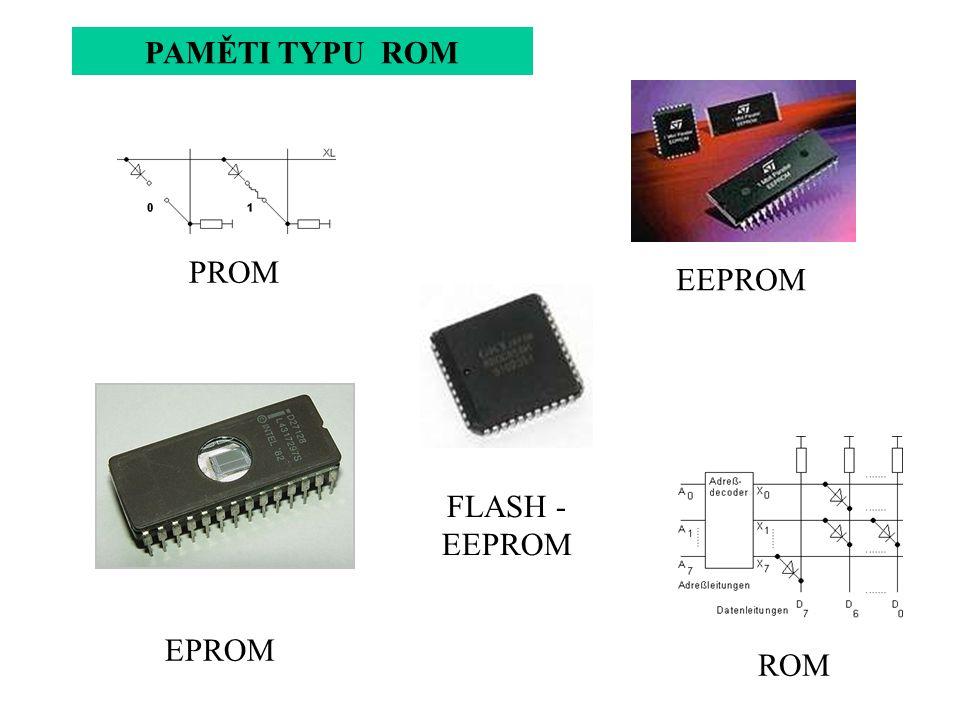 PROM ROM EPROM EEPROM FLASH - EEPROM PAMĚTI TYPU ROM