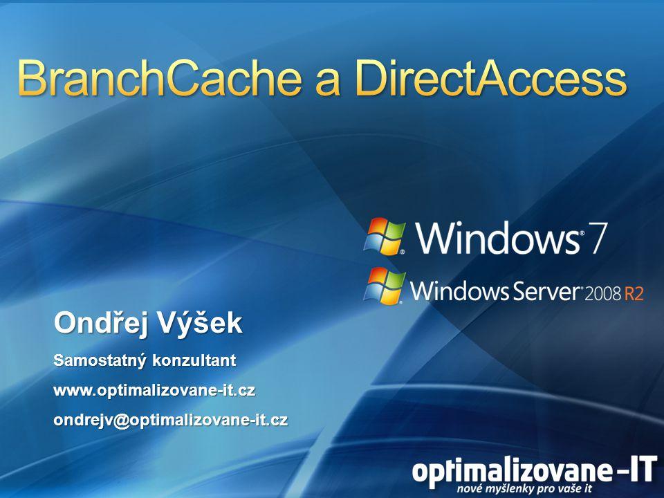 Ondřej Výšek Samostatný konzultant www.optimalizovane-it.czondrejv@optimalizovane-it.cz