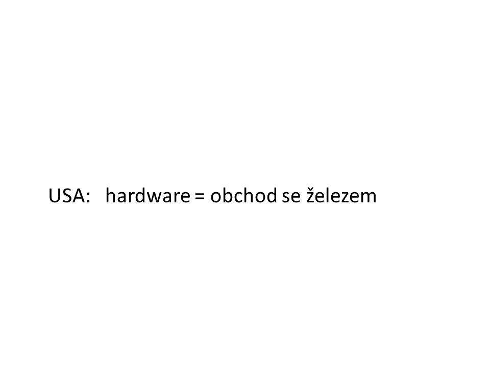 Hardware Hardware je veškeré fyzické zařízení počítače.