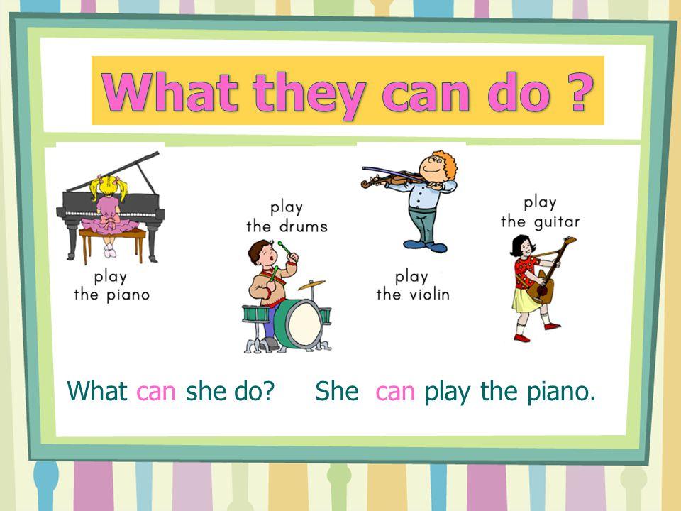 "-u hudebního nástroje je ""the"" (the trumpet, the guitare..) -u sportu není člen ( fotball, hockey..) ( fotball, hockey..)"