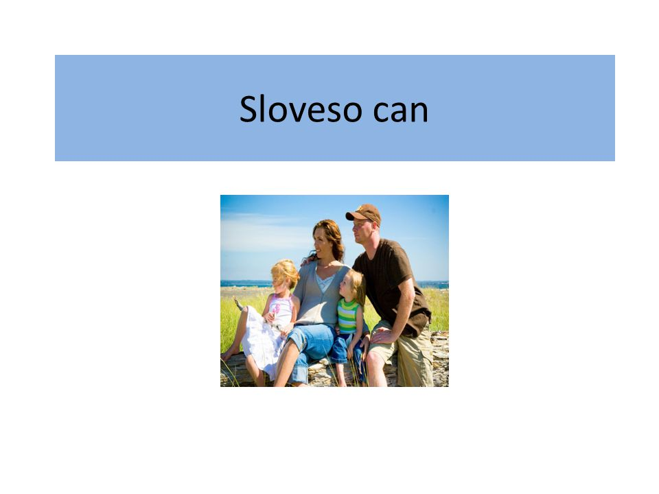 Sloveso can